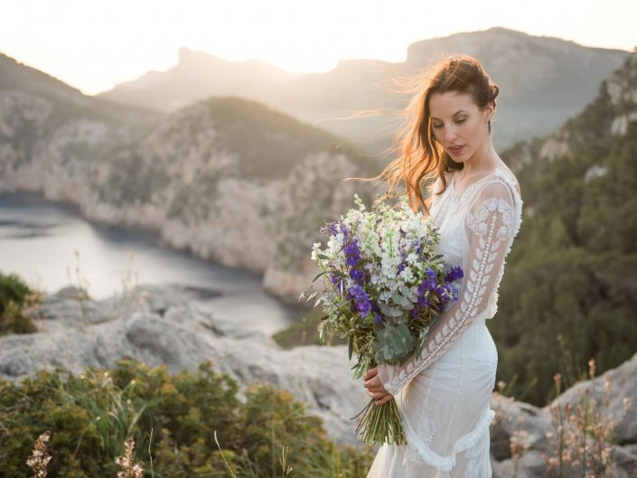 Boho Sonnenaufgang Shooting auf Mallorca
