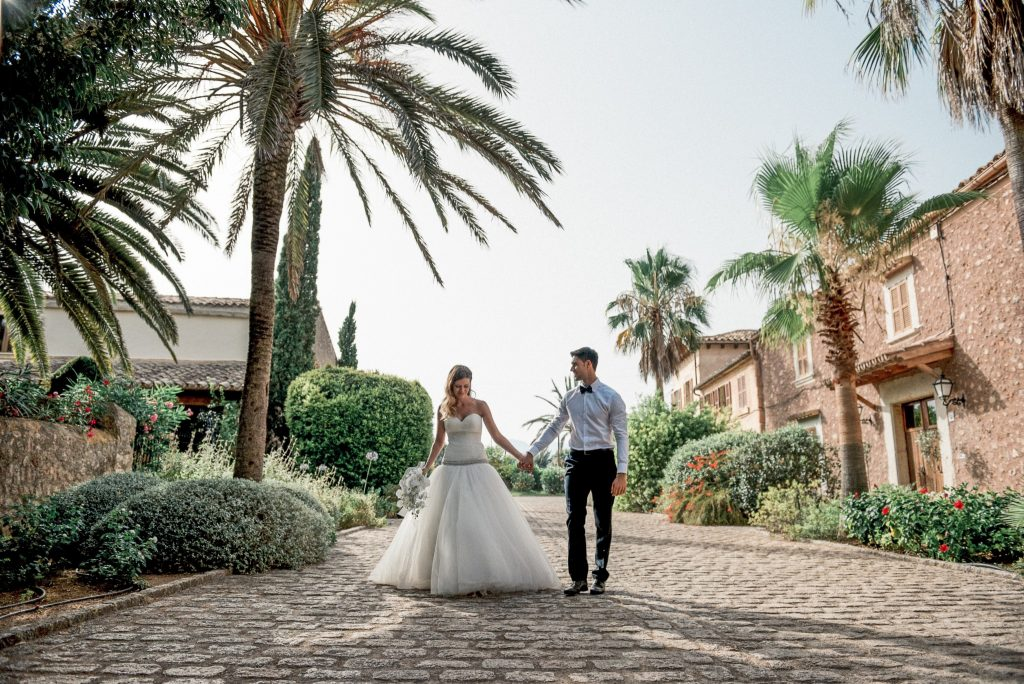 Finca wedding