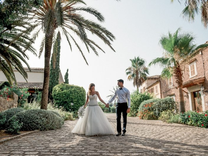 Romantic spanisch wedding, Mallorca