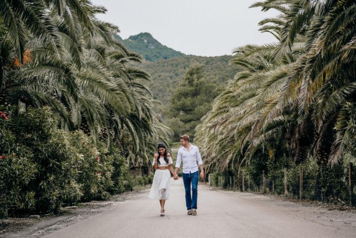 Mallorca Honeymoon couples session
