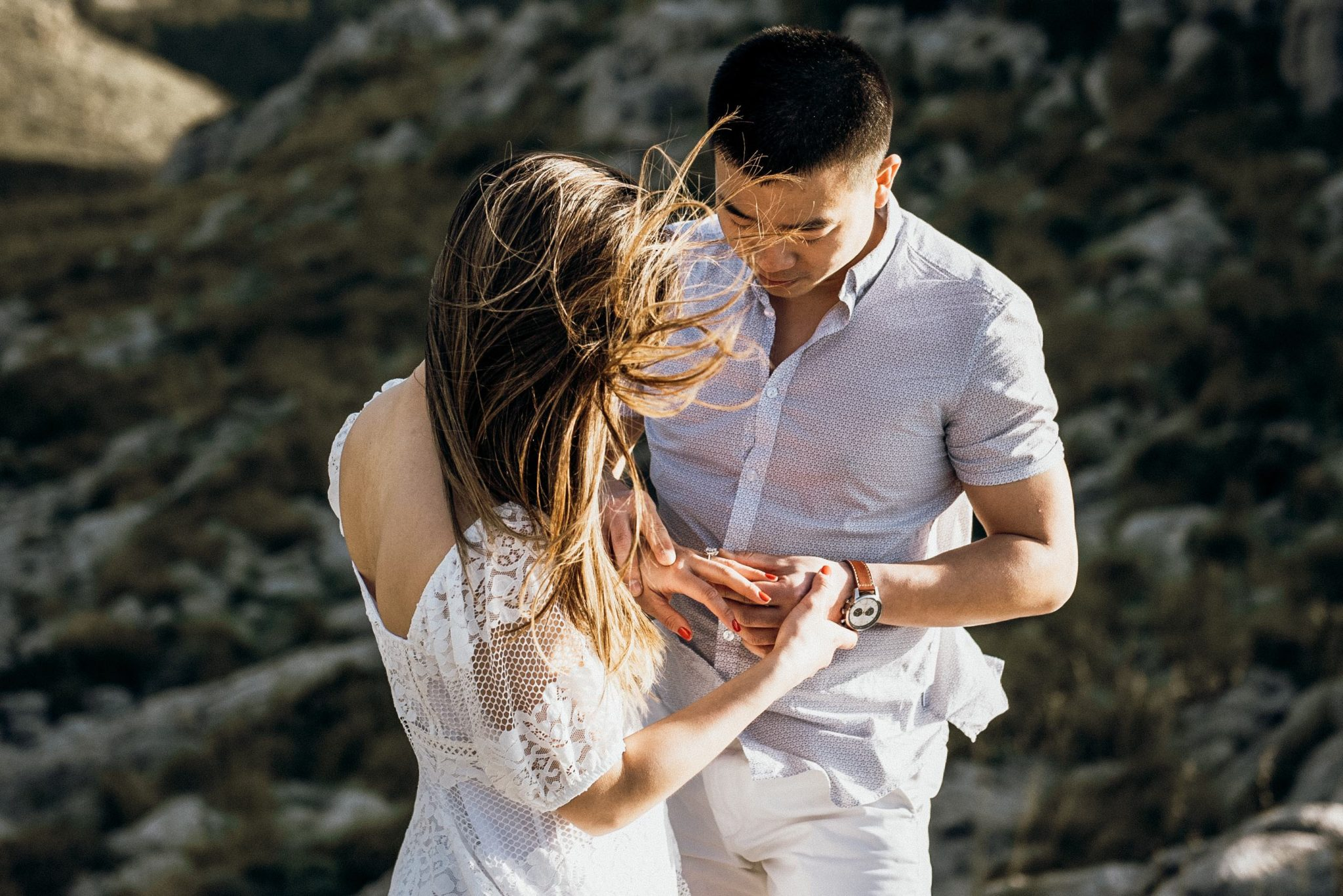 mallorca engagement photo shoot