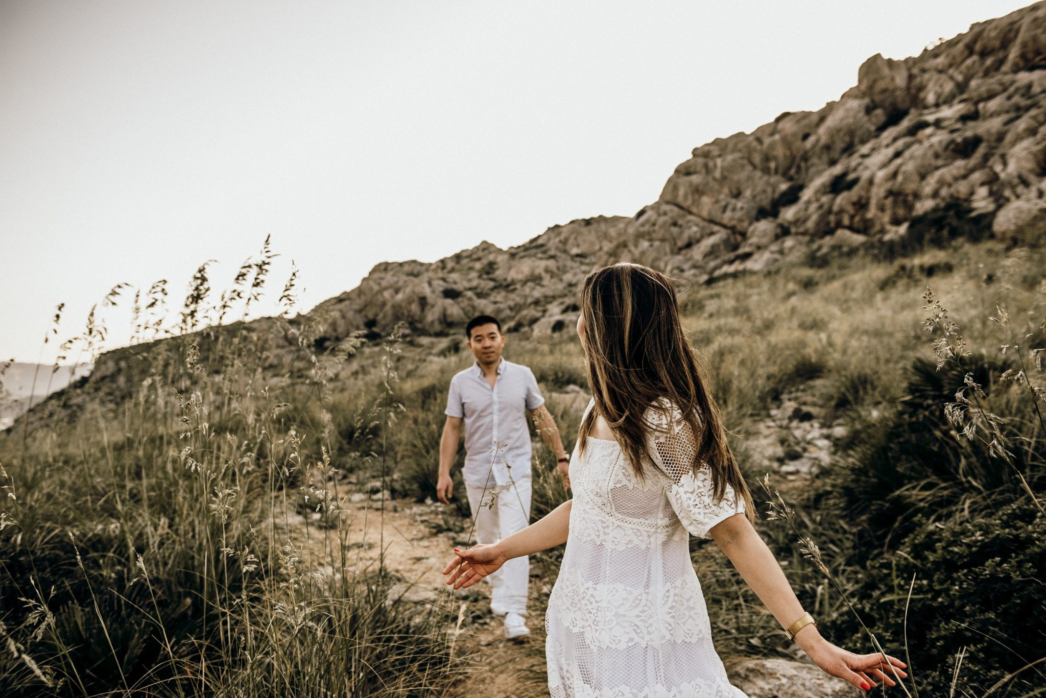 Engagement shoot mallorca