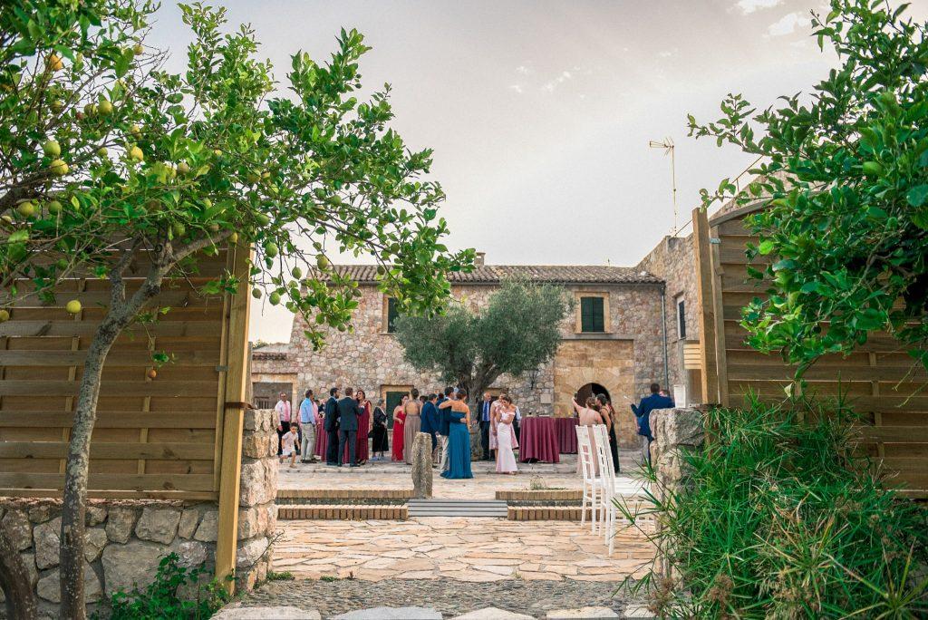 Rural Garden Wedding in Mallorca