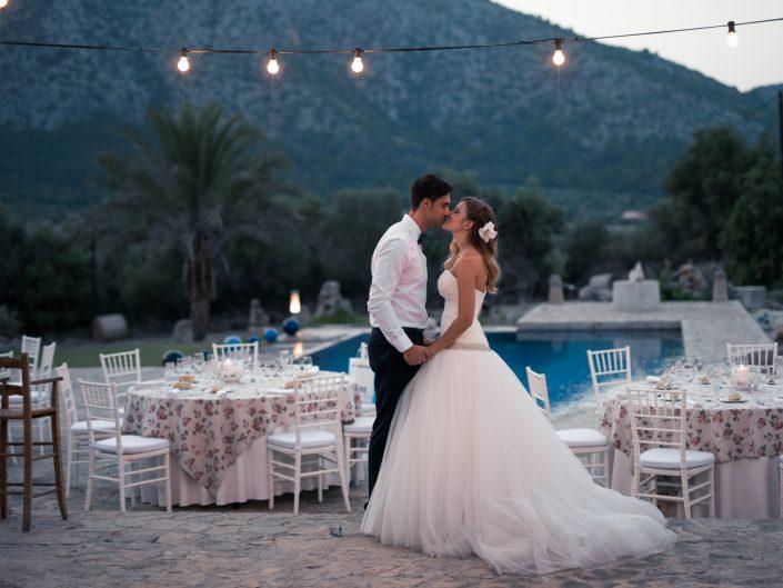 Romantische Spanische Hochzeit, Mallorca