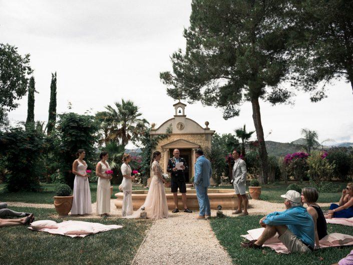 Rustic Garden Wedding in Finca Santa Lucia, Mallorca
