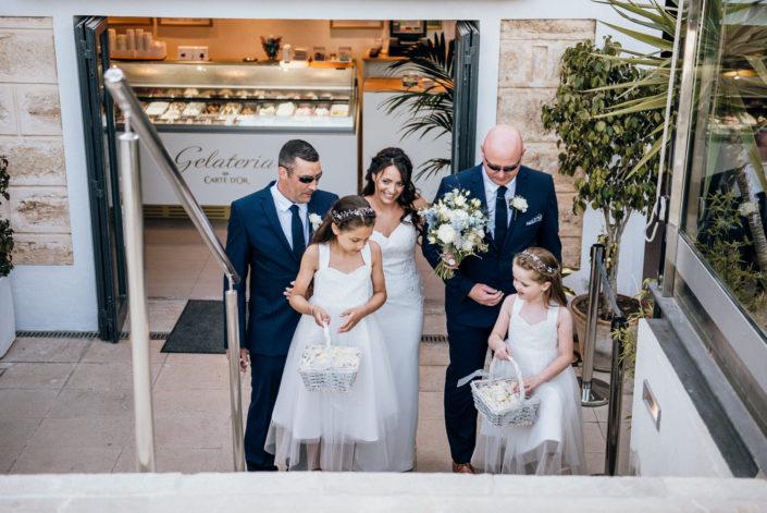 Destination beach wedding Mallorca