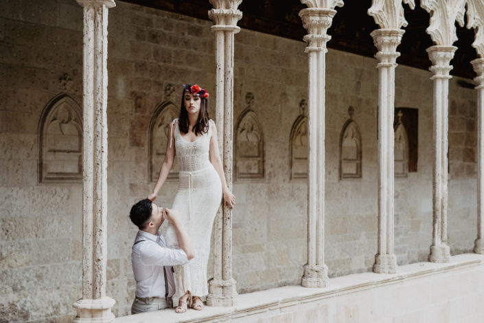 Mallorca wedding shoot