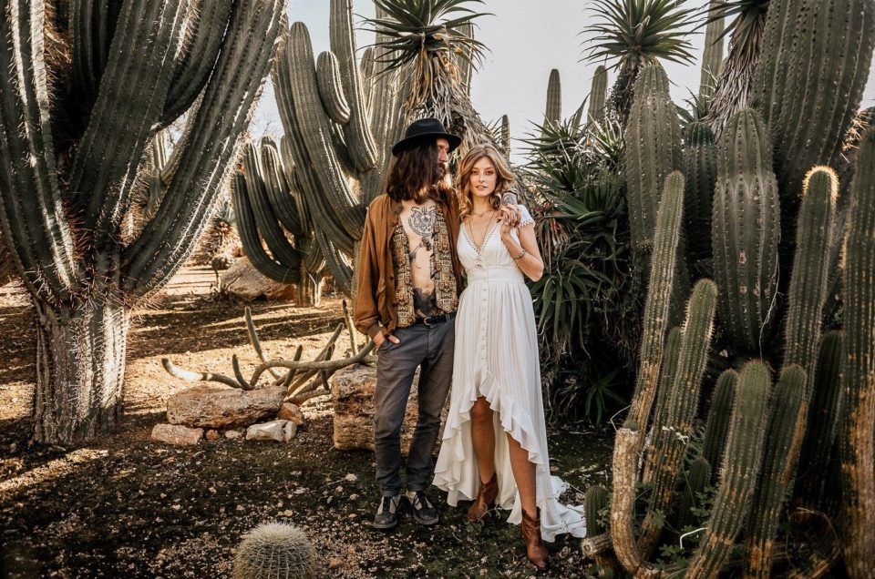 Boho Elopement inspiration